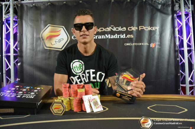 Luis Navas consigue la victoria en la cuarta etapa de la Liga Española de Poker 0001