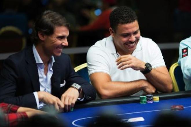 """Rafael Nadal jugará con Ronaldo """"El Duelo"""" en PokerStars el 6 de Nov. 0001"""