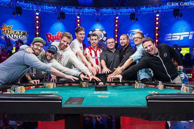 WSOP 2014 November Nine