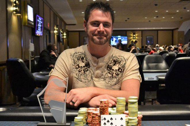 Darrin Bracken Wins Event #2 of 2014 Seneca Fall Poker Classic 0001
