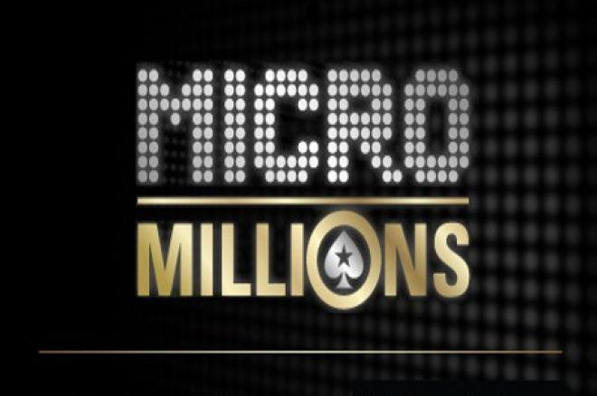 Šiandien į PokerStars sugrįžta žemų įpirkų MicroMillions serija 0001