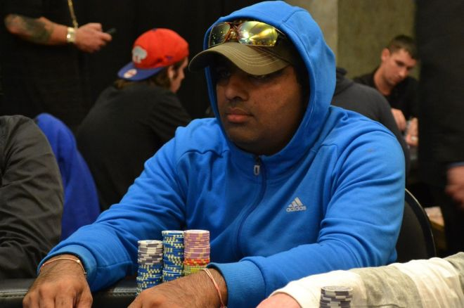 2014 Seneca Fall Poker Classic Main Event: Mandeep Chahal Leads Day 1b; 42 Advance 0001
