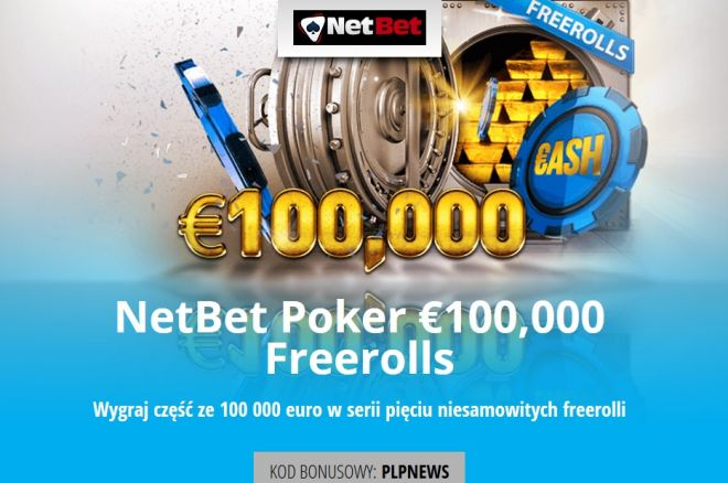Zagraj o 100 000 euro na NetBet za DARMO
