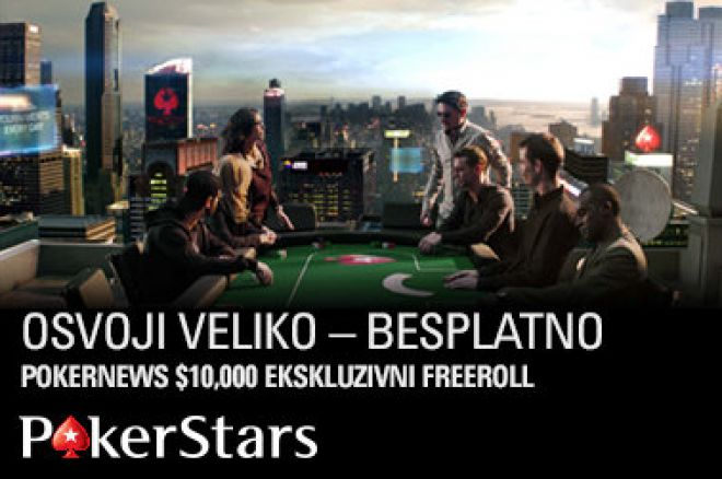 Pridruži Nam Se na Sledećem Ekskluzivnom PokerStars Freerollu 5. Decembra! 0001