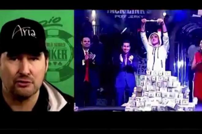 Podívejte se na 13. a 14. epizodu souhrnu Main Eventu Mistrovství světa v pokeru 0001