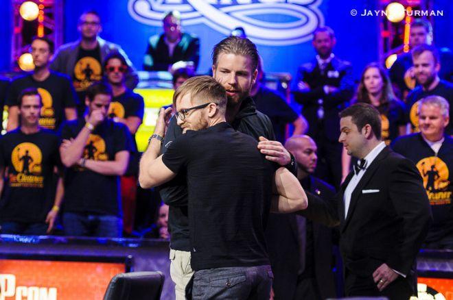 2014 World Series of Poker Main Event - Van Hoof 3e ($3.806.402), Jacobson wint ($10.000.000)