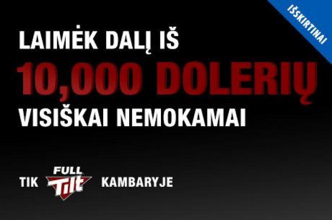 Artėja $10,000 prizinio fondo PokerNews nemokamas turnyras Full Tilt kambaryje 0001