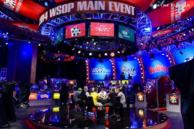 2014 WSOP Main Event final table