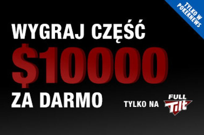 Freerolle o 10 000$ na Full Tilt