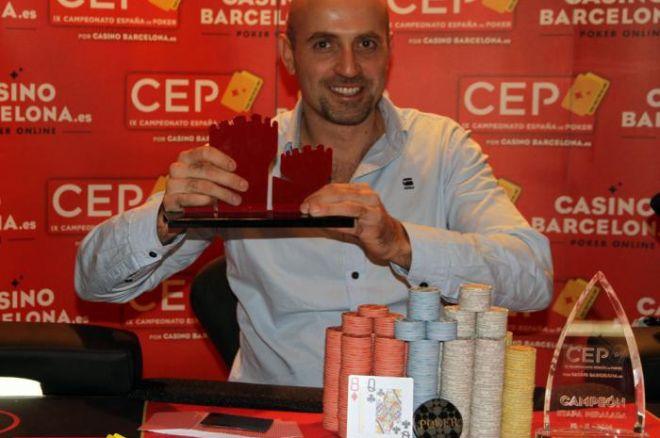 Eugeni Cros gana en Peralada en la etapa en la que Cayetano García se pone líder 0001