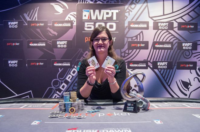 Eleanor Gudger: 2014 partypoker WPT500 UK champion