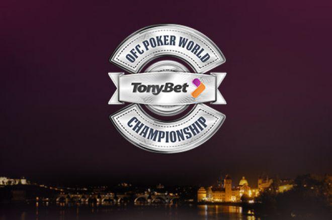 Tantulia28 Wins the TonyBet Poker Rake Race for a €1,000 OFC World Championship Main Event... 0001