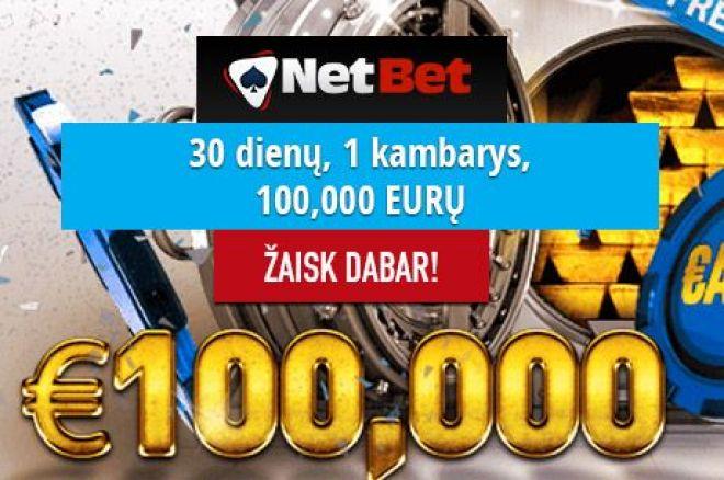 NetBet nemokamų turnyrų festivalyje dar liko 40,000 eurų 0001
