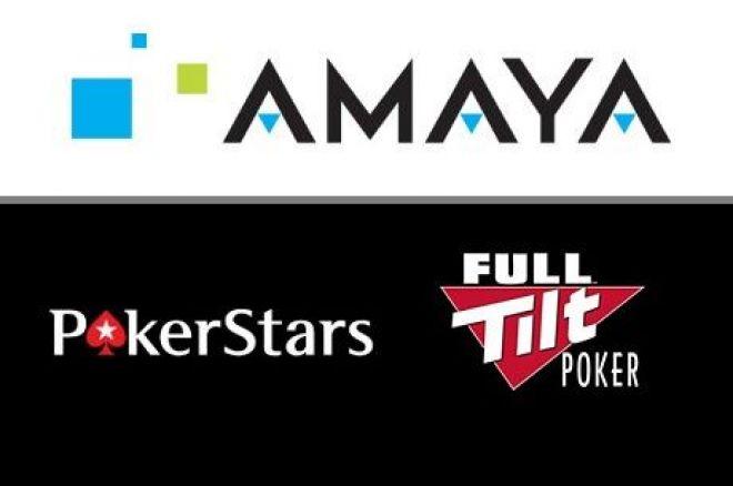 Amaya Gaming PokerStars Full Tilt Poker