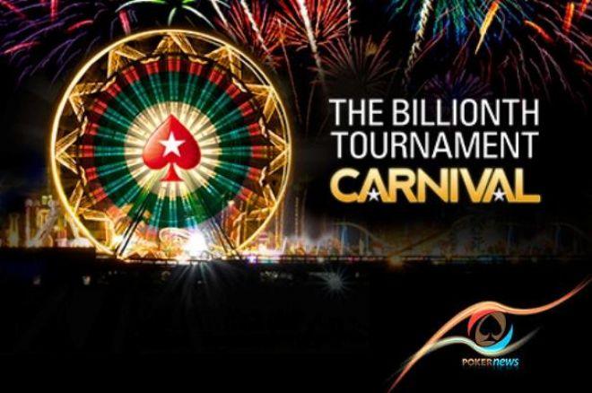 PokerStars miljard turniiri
