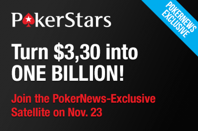 Discover How to Play The $2m GTD. Tourney Number 1 Billion on PokerStars for Only $3,30!