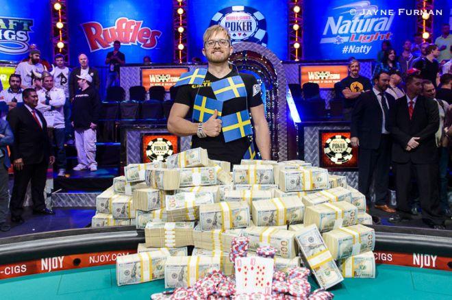 WSOP finalininkai bendrai privalės sumokėti virš 6 milijonų dolerių mokesčių 0001