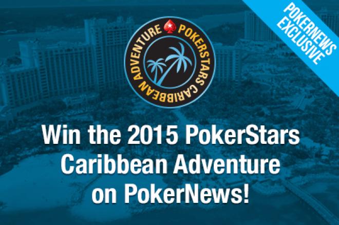 Išskirtinis PokerNews satelitas: iškeiskite $1 už kelionę į PCA pagrindinį turnyrą... 0001