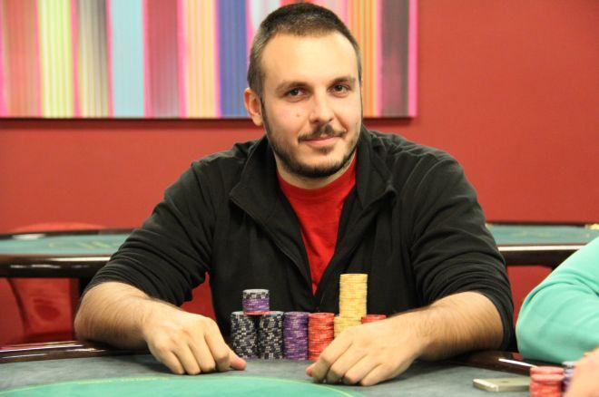 Raško Mićić Chip Leader Nakon Dan 1A Adria Poker Tour Main Eventa u Zagrebu, Milan... 0001