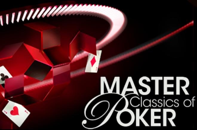 Master Classics of Poker 2014 - Noah Boeken mist finaletafel, Rieuwert Fleer chipleader