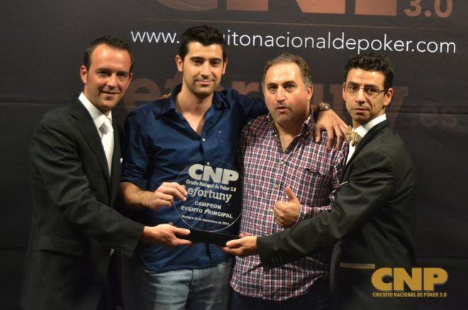 Javier Sánchez y Ángel Mena se reparten la gloria de la final del CNP 3.0 0001