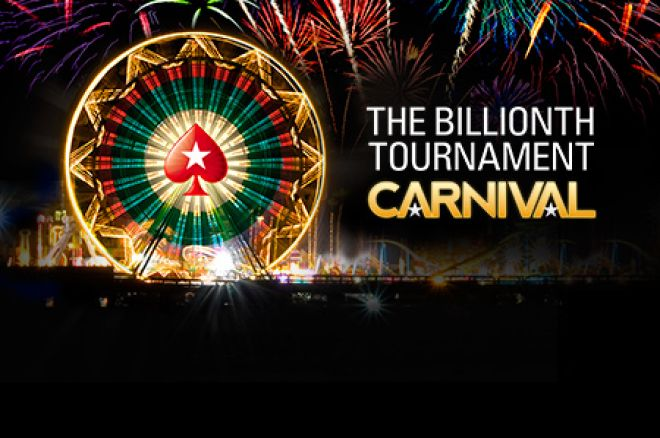 Discover How To Win Big This Week in the PokerStars Billionth Tournament Carnival