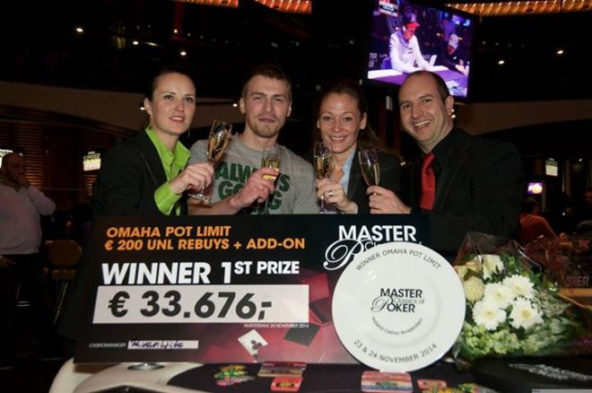 Master Classics of Poker 2014 - Gleb Tremzin sterkste in €200 Pot-Limit Omaha Rebuy