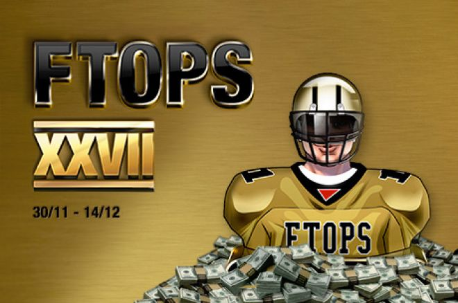 The FTOPS XXVII Returns On Sunday with Over $4 Million in Guarantees 0001
