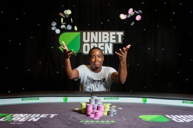 Iaron Lightbourne: 2014 Unibet Open London champion