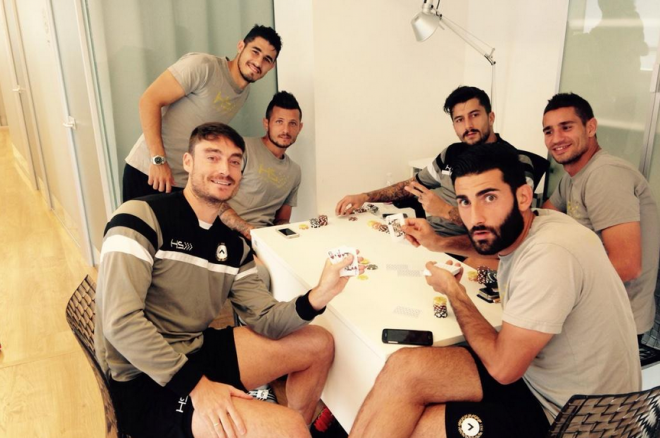 Italian Serie A Team Udinese Sacks Football Player Over Poker Tournament 0001