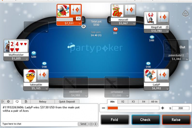 Partypoker Releases 'Christmas-Themes' Major Client Update