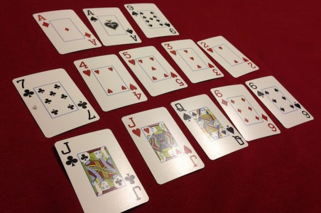"How to Play Open-Face Chinese Poker with 2-7 in the Middle, or ""Deuce Pineapple"""