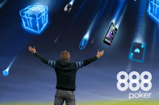 Win Gifts (And Cash) for $1,000,000 With the NO LIMIT Giveaway at 888poker!