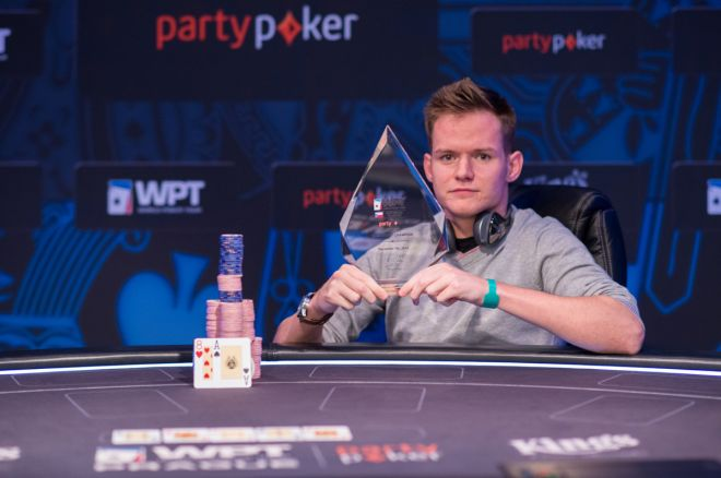 Alex Goulder: 2014 partypoker WPT National Prague Main Event champion