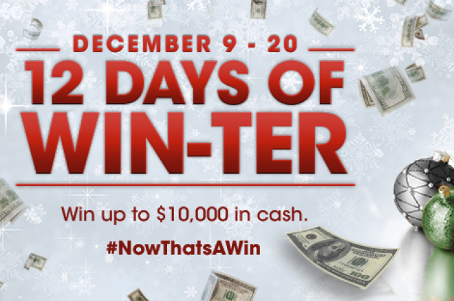 12 Days of Win-Ter at Borgata Poker