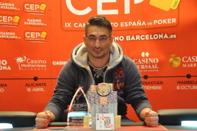 El rumano Adrian Costin gana la etapa definitiva del CEP 2014 0001