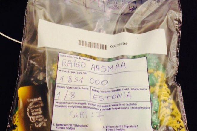 Raigo Aasmaa Grand Live finaallauas chipliider! Live-ülekanne avatud taskukaartidega! 0001