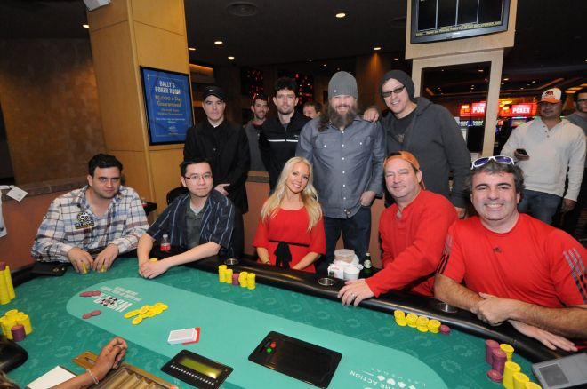 7th Annual All-In for Cerebral Palsy Celebrity Poker Tournament final table.
