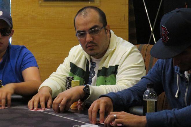 Michel Ruiz es el chipleader del día 1C en el Abu Dhabi 0001