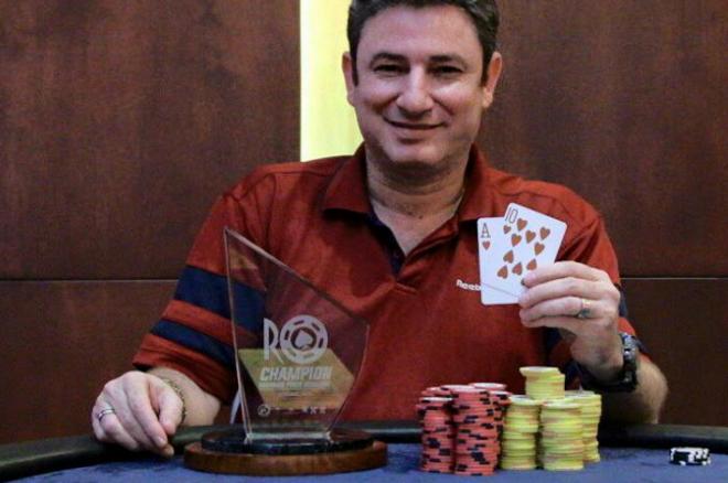 Alex Brenes Campeón del Rounders Poker Challenge 2 0001