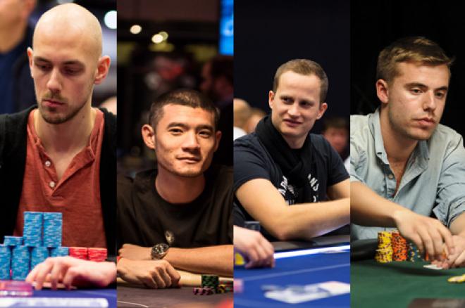 Team UK: Stephen Chidwick, Jack Salter, Simon Deadman and Oliver Price