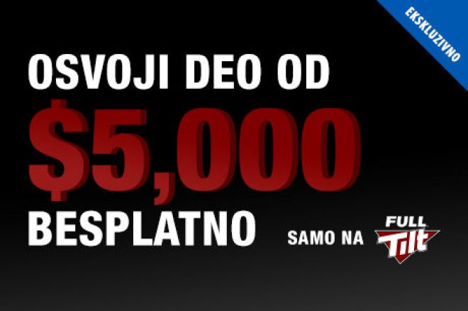 Osvoji Veliki Novac na PokerNews-Ekskluzivnom $5,000 Freerollu na Full Tiltu! 0001
