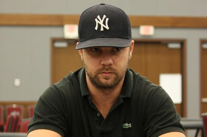 Ryan Cairns at DeepStacks Poker Tour Calgary