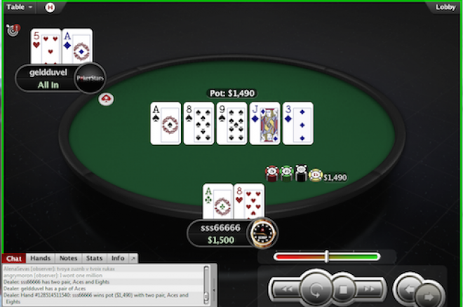 PokerStars $1 Million Spin & Go