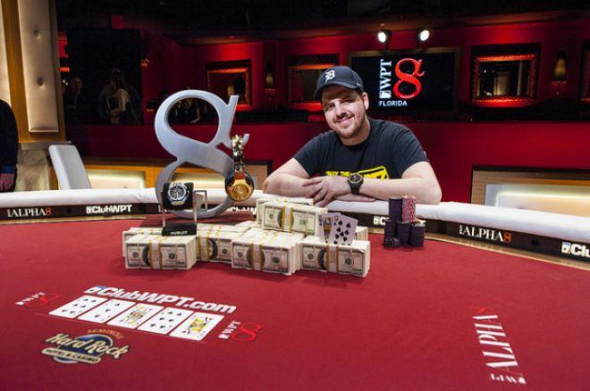 PokerNews Boulevard: Noah Schwartz wint mini WPT Alpha8 in Florida