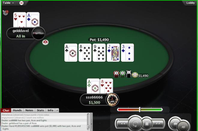 """Milijoną Spin & Go laimėjęs """"sss66666"""": """"Dalį pinigų paaukosiu sergantiems... 0001"""