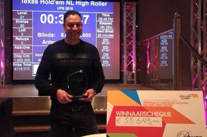 PokerNews Boulevard: Tjauw Foe wint High Roller in Utrecht, Jaka is een nomade, en meer...
