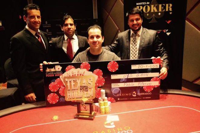 Pablo Piperno ganó un multitudinario Martes de Poker en Montevideo 0001