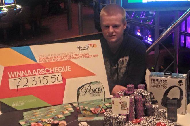 PokerNews Boulevard: Ruben van der Venne wint in Utrecht, en meer...