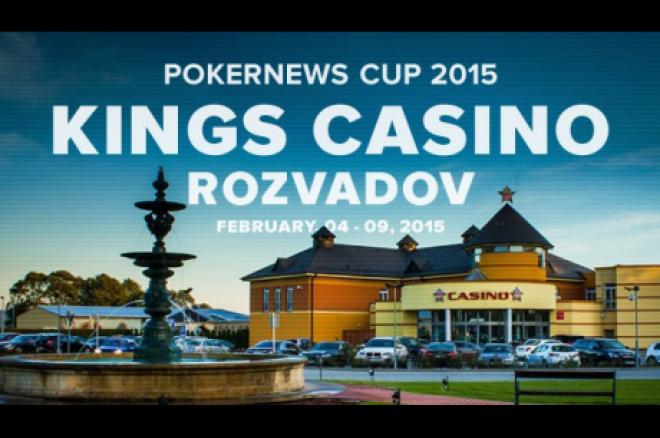 PokerNewsCup 2015 Rozvadov